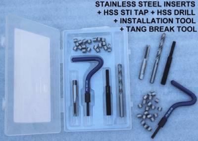 Kit 120pc UNF Stainless 3//16 Hex Set Fully Threaded Bolt Pack