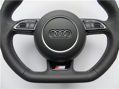 audi s line steering wheel with airbag a3 s3 rs3 q3 a1 lenkrad. Black Bedroom Furniture Sets. Home Design Ideas