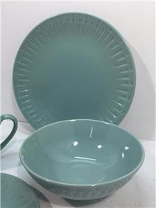 Sango Contempo 11 Piece dinnerware Set Aqua 4626-16 | eBay