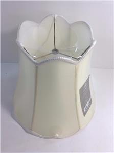 Jcpenney Home Scalloped Top Lamp Shade Geneva Cream