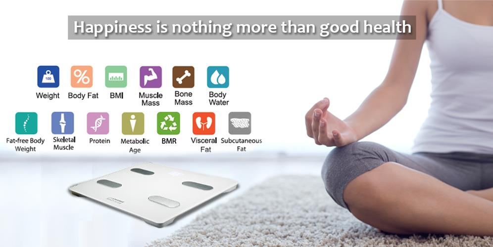 Smart Scale BMI Bluetooth wireless body composition analyzer