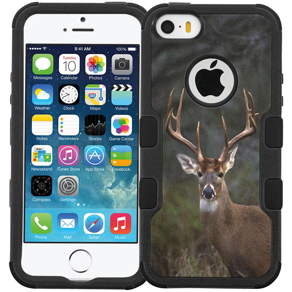 Whitetail Buck Phone Case Rugged Protective Cover For