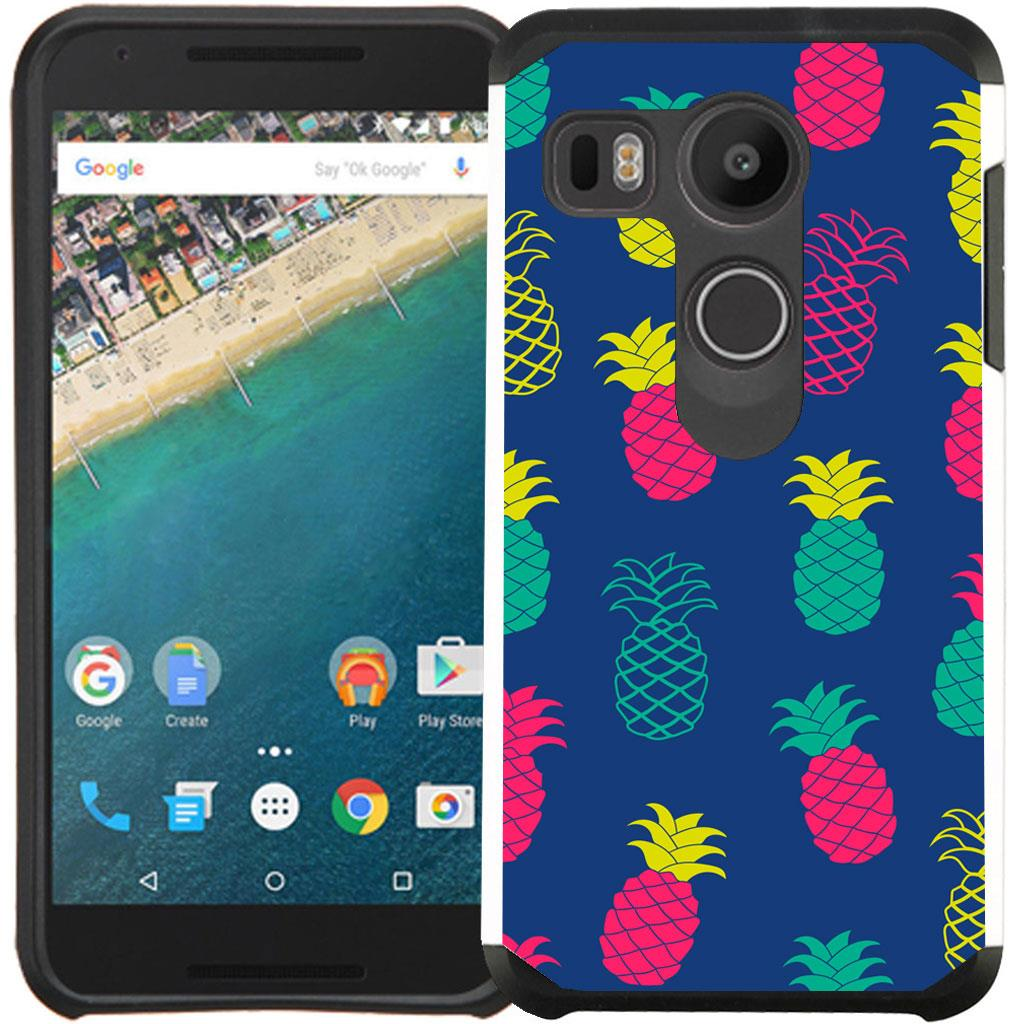Pastel-Color-Slim-Hybrid-Case-Phone-Cover-Flower-Unicorn-for-LG-Google-Nexus-5X