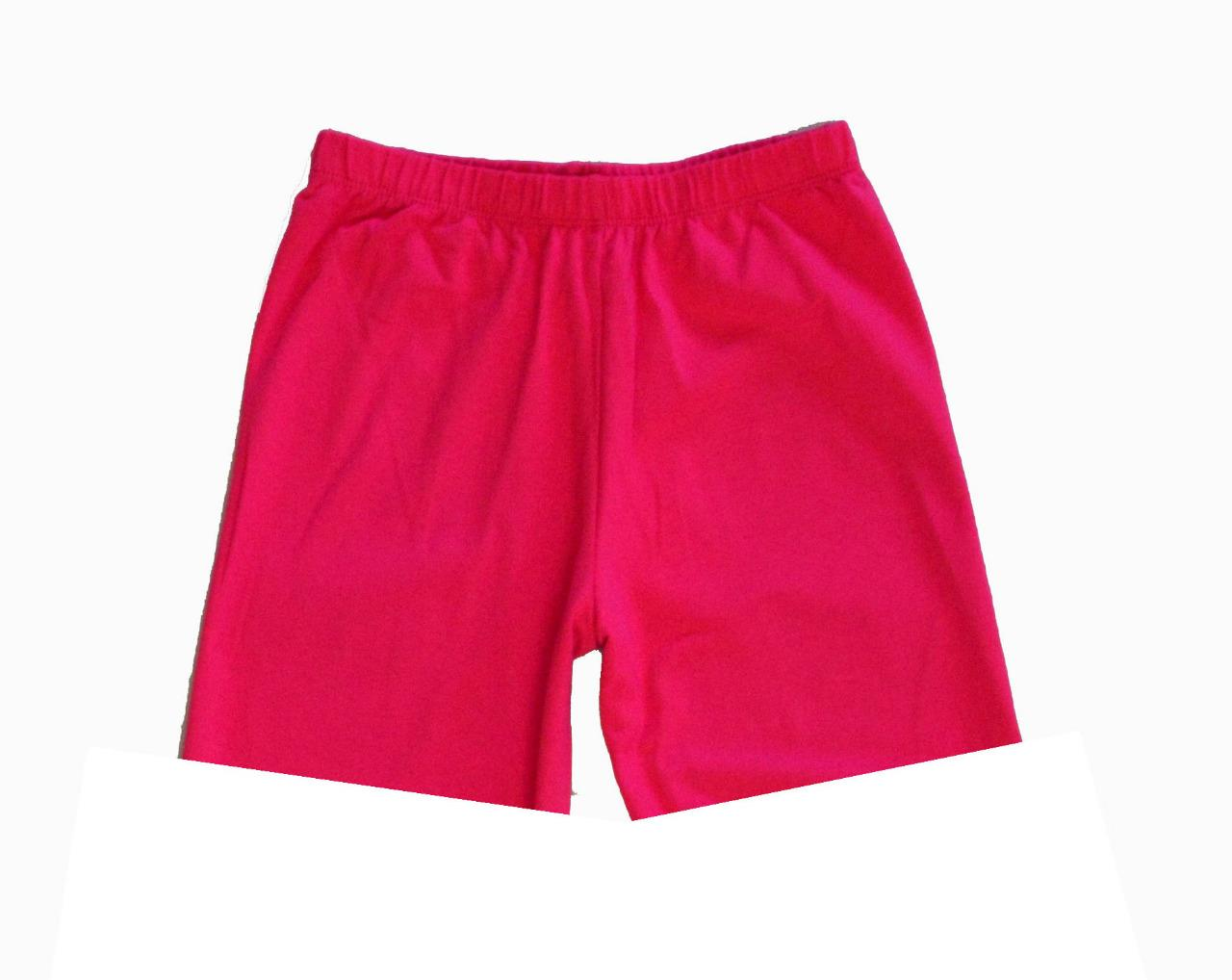 Shop Old Navy's Mid-Length Bike Shorts for Girls: Elasticized waistband.,Soft, lightweight jersey, with comfortable stretch.,Lotus Orange Neon & Gold Foil Palm .