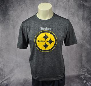 Majestic Mens Steelers Cool Base Logo On Front T-Shirt Size Medium ... 8899242ec