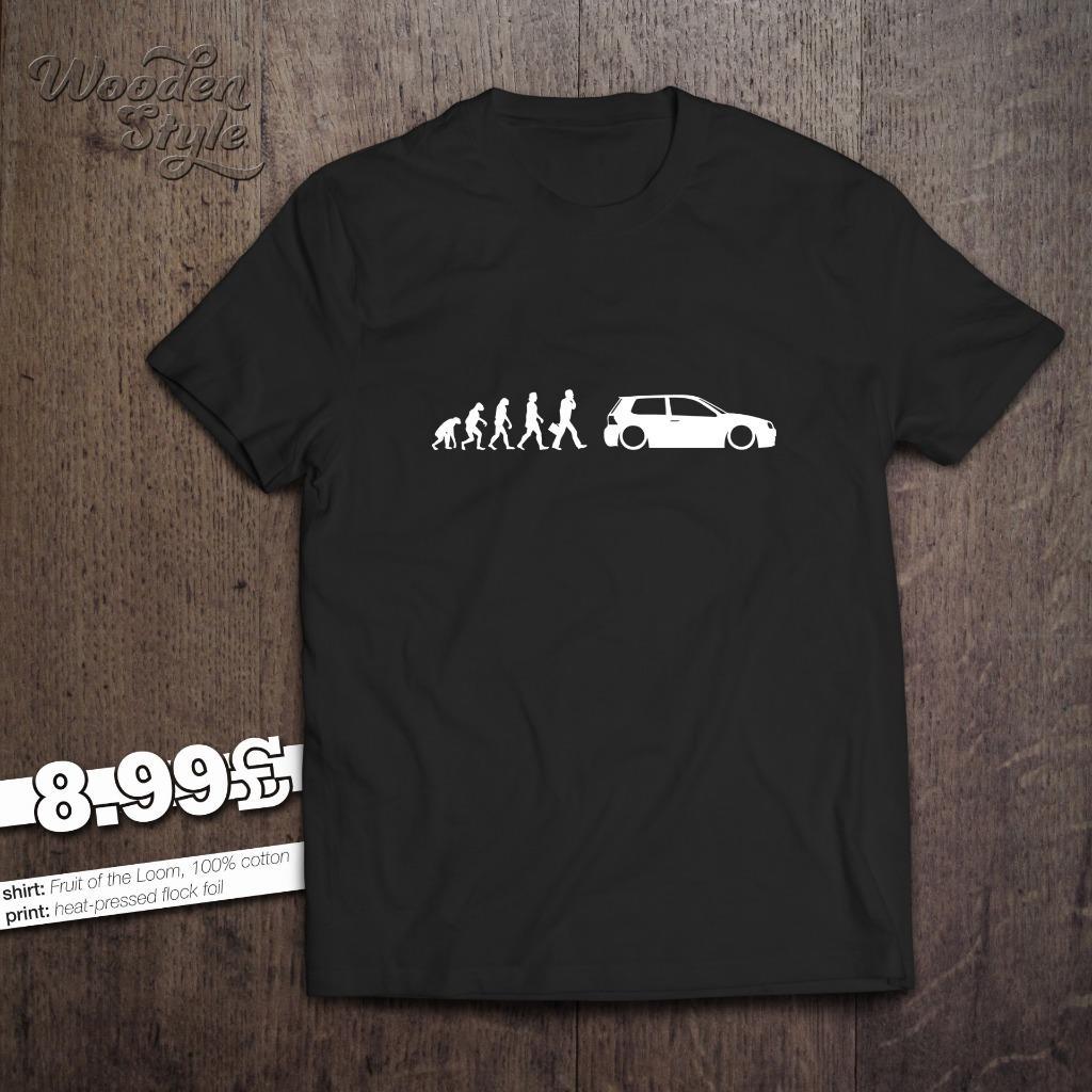 evolution of man vw golf mk 4 t shirt 1 4 1 6 1 8 t 1 9. Black Bedroom Furniture Sets. Home Design Ideas