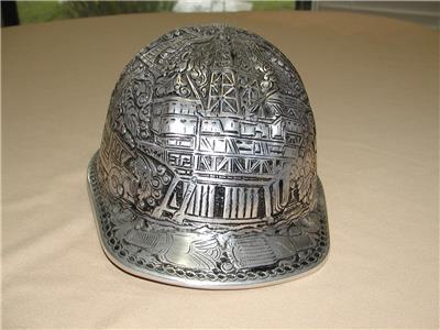 Mcdonald engraved oilfield drilling aluminum hard hat ebay jpg 400x300 Oil  field hard hat 07a56a68d30d