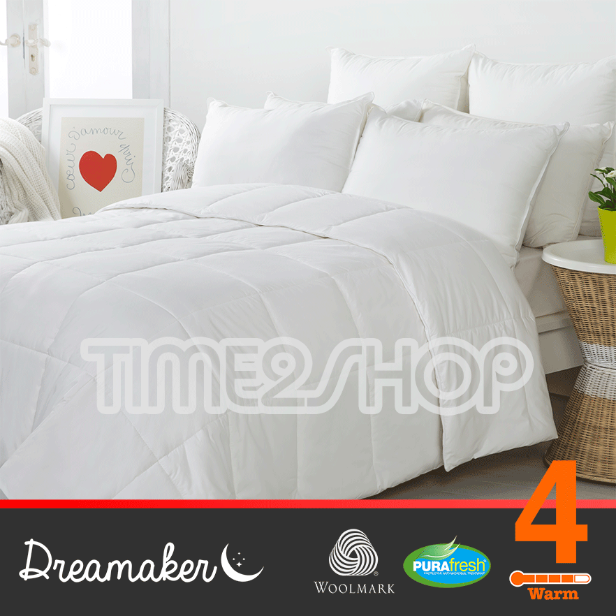 Dreamaker washable wool quilt