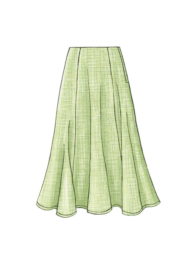 easy womens skirt patterns - photo #3