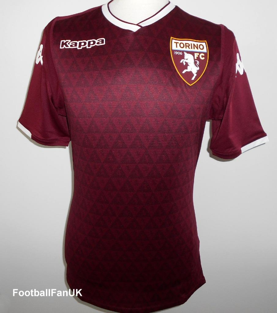 5dab3bc853317 Details about TORINO FC Kappa Official Mens Home Football Shirt 2018-2019  NEW Jersey Maglia