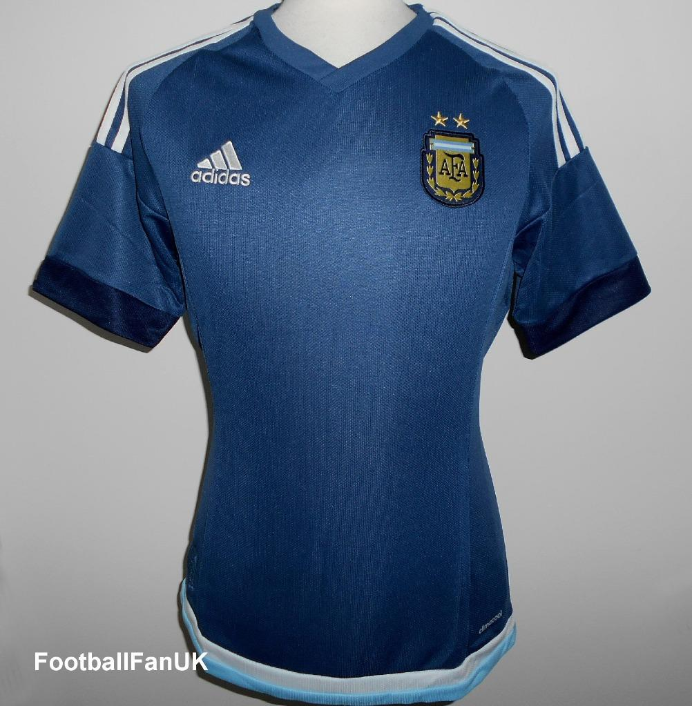 eaa368b8c12 Details about ARGENTINA Official Adidas Away Football Shirt 2015-2016 NEW  Mens Jersey Camiseta
