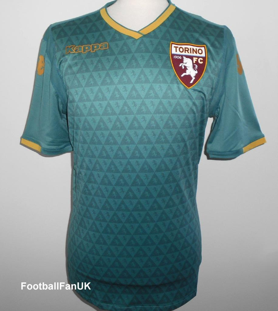 Details about TORINO Kappa Official Mens Third Football Shirt 2018-2019 NEW  Jersey Maglia 3rd 32b03f0f38bf5