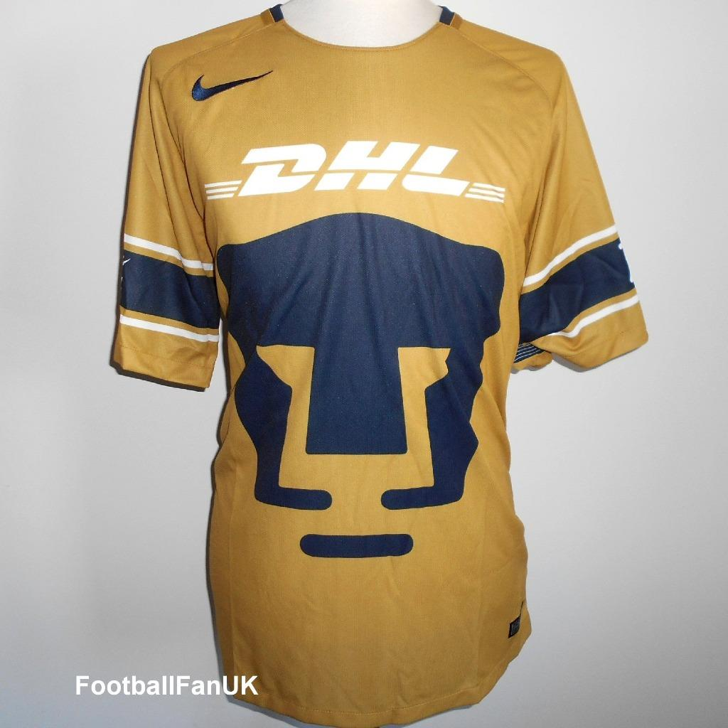 fe9c7e32ae0 Details about PUMAS UNAM Mexico Official Nike Third Shirt 2017-2018 NEW  Men s XL 3rd Jersey
