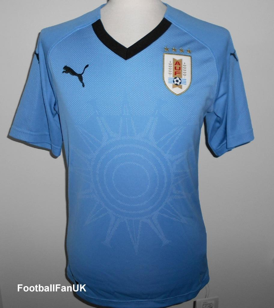 Details about URUGUAY Puma Official Home Football Shirt 2018-2019 NEW XL  Mens Jersey Camiseta 06ac8a7a7e894
