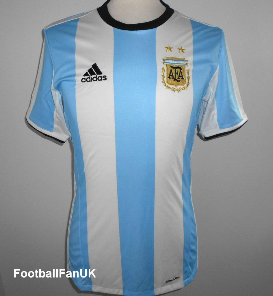 e8e4be5d696 Details about ARGENTINA Adidas Home Football Shirt 2015-2017 NEW Men's  Jersey AFA Camiseta