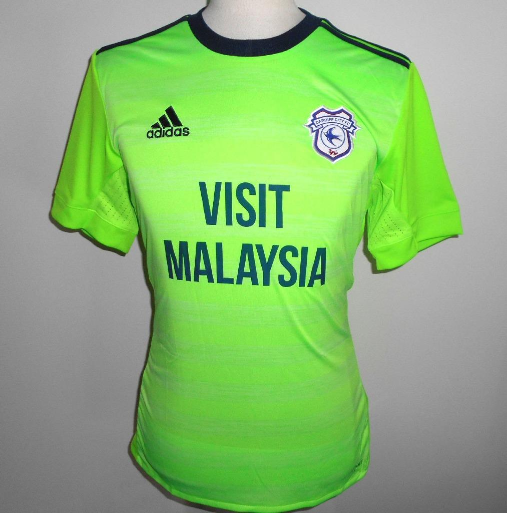 9fcf13047 Details about CARDIFF CITY FC Adidas Away Football Shirt 2018-2019 NEW  Men s Soccer Jersey