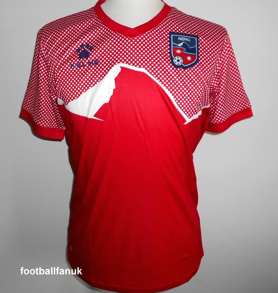 542e725355 Details about NEPAL Official Kelme Away Football Shirt 2019-2020 NEW Men's  Sizes Soccer Jersey