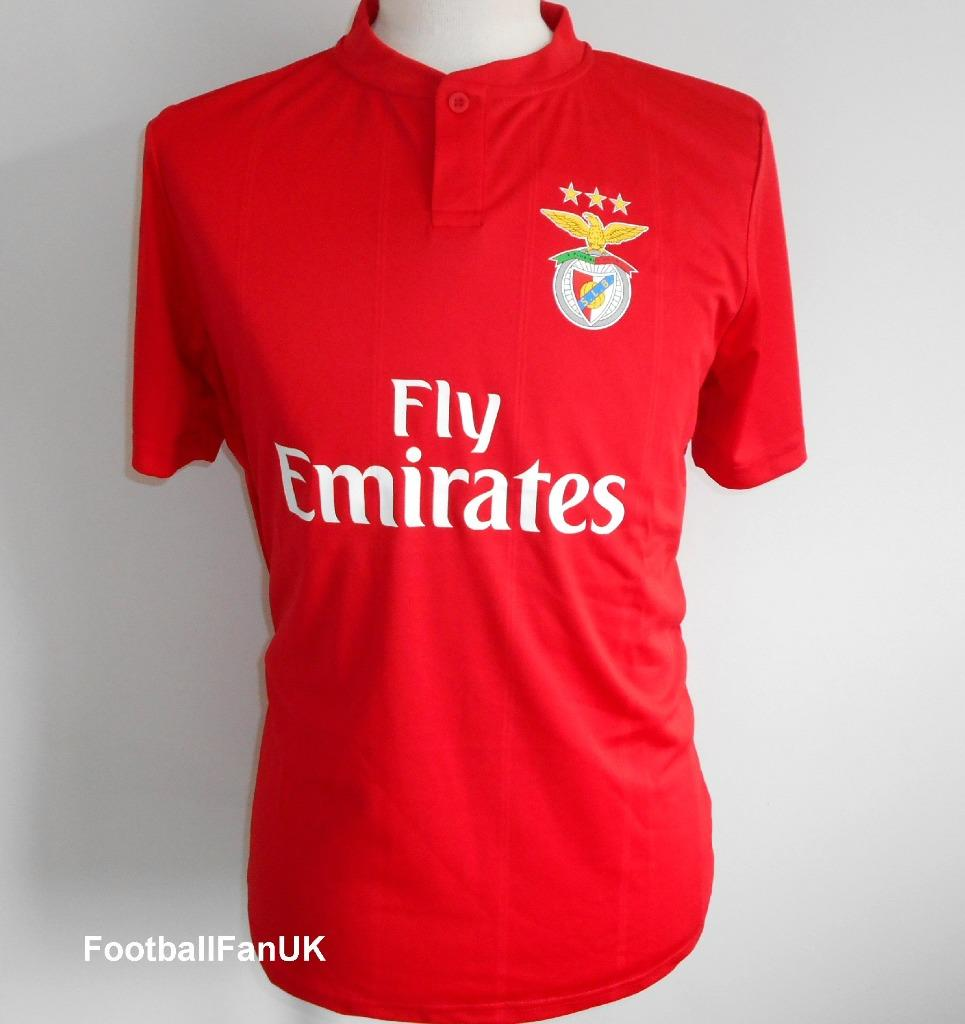 info for ea841 50365 Details about BENFICA Home Shirt 2018-2019 NEW Official SLB Soccer Jersey  Camisola