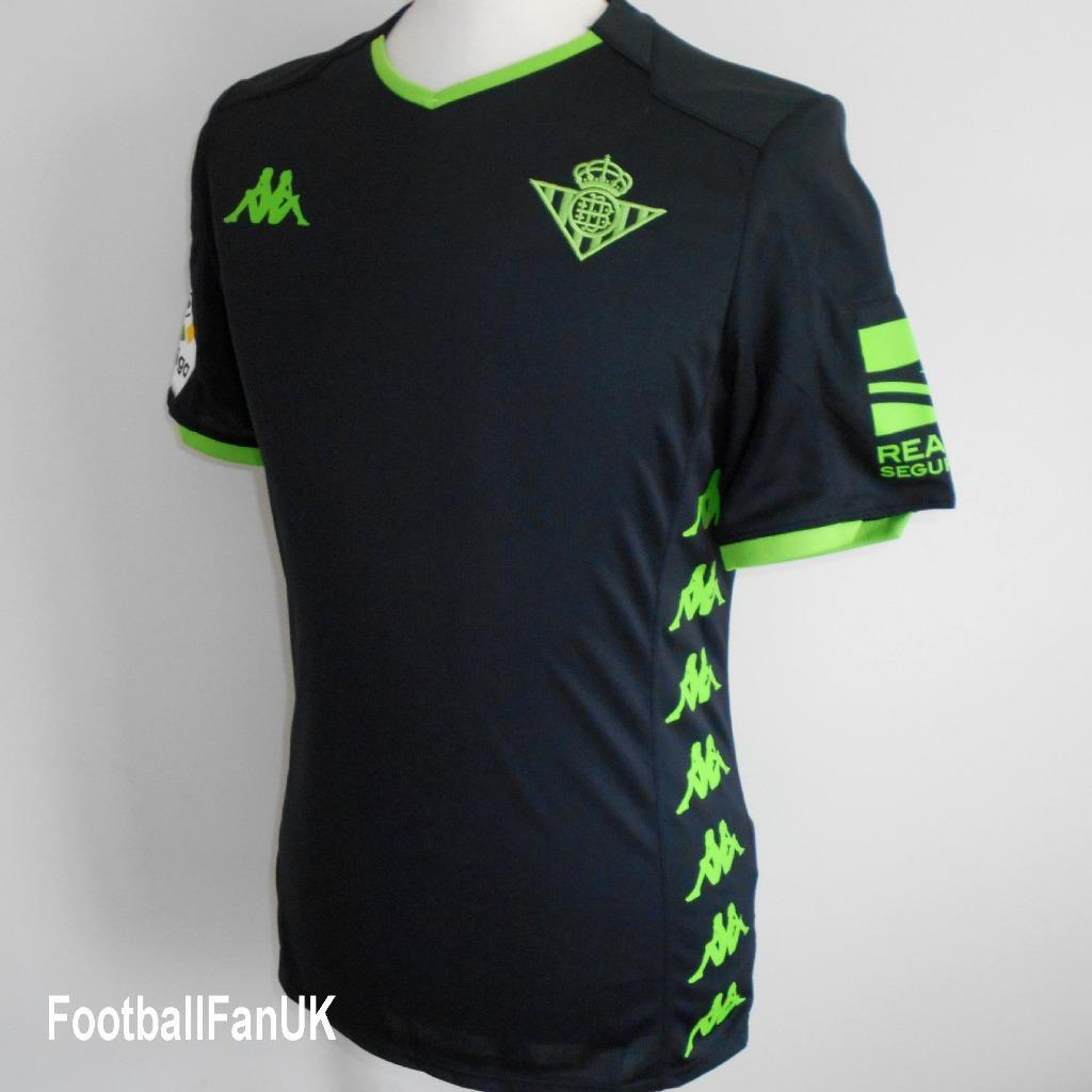 Detalles de Real Betis Kappa Oficial Lejos Camiseta De Fútbol 2019 2020 Nuevo Jersey Camiseta para hombre ver título original