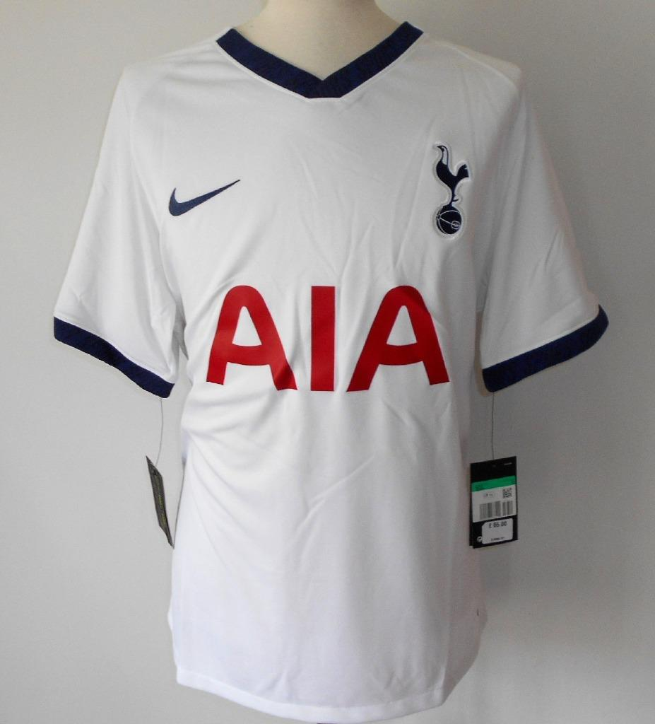 Tottenham Hotspur Fc Offiziell Nike Home Men S Football Shirt 2019 2020 Spurs Ebay
