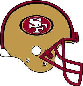 San Francisco 49ers Cornhole Board Decal 1 Decal