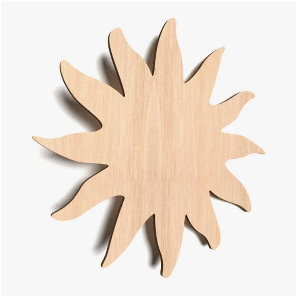 sonne blank holz form basteln bemalen dekoration kinderzimmer x71 ebay. Black Bedroom Furniture Sets. Home Design Ideas