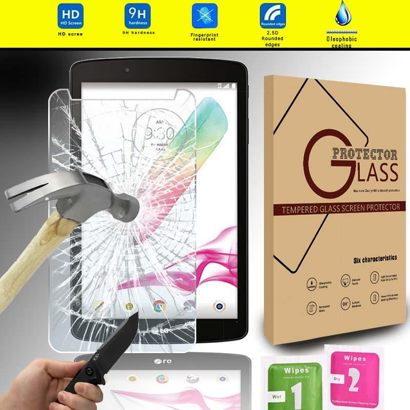 Tablet Tempered Glass Protector cover For LG G Pad F 8.0 2nd Gen