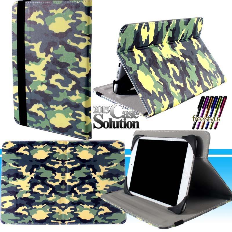 Universal-Folio-con-cierre-magnetico-De-Cuero-Funda-Cubierta-Inteligente-Base-Giratoria-para-Tablet