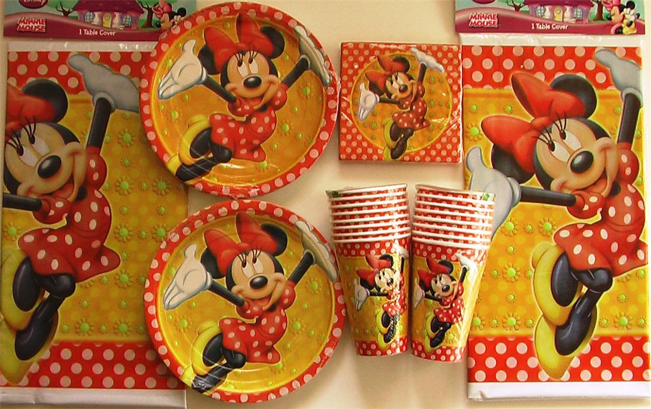 Mickey Minnie Mouse Birthday Party Decorating Help