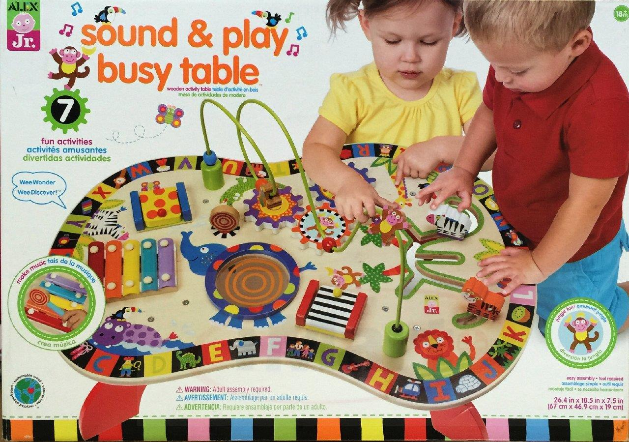 Alex Toys Alex Jr Sound And Play Busy Table Baby Activity