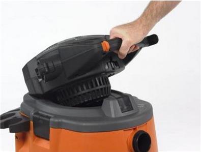 Ridgid 14 Gal 6 Hp Wet Dry Vacuum W Blower Amp Gutter