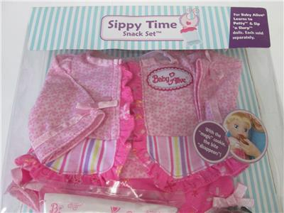 Baby Alive Learns To Potty Sip N Slurp Toy Doll Sippy