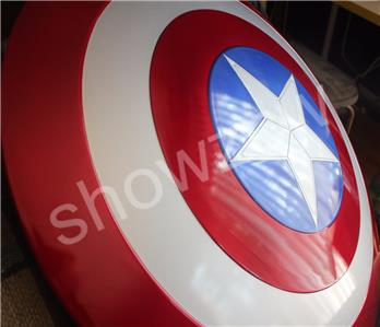 ABS Made Cattoys V2.0 1:1 Captain America Shield Prop/&Replica Original Size