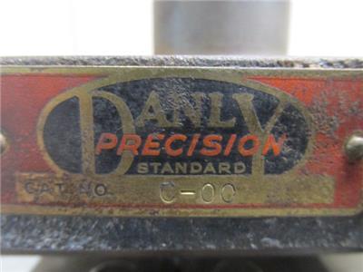 "Danly C-00 Punch Press Precision Back Post Die Set Shoe 3/"" x 4/"""
