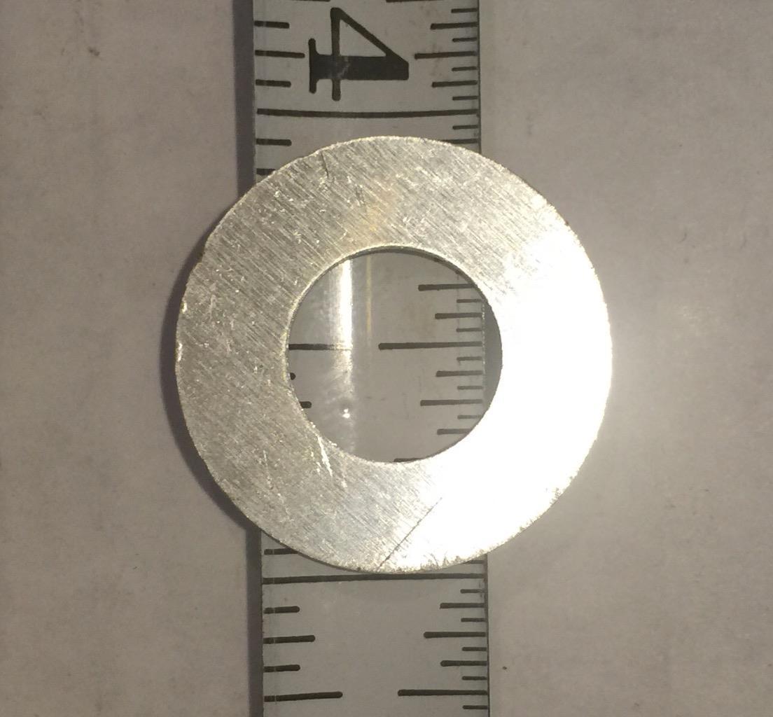 "50 Mini Circuit Breaker Press To Reset Collar Label Plate Aluminum 7//8/""OD 1//2/""ID"