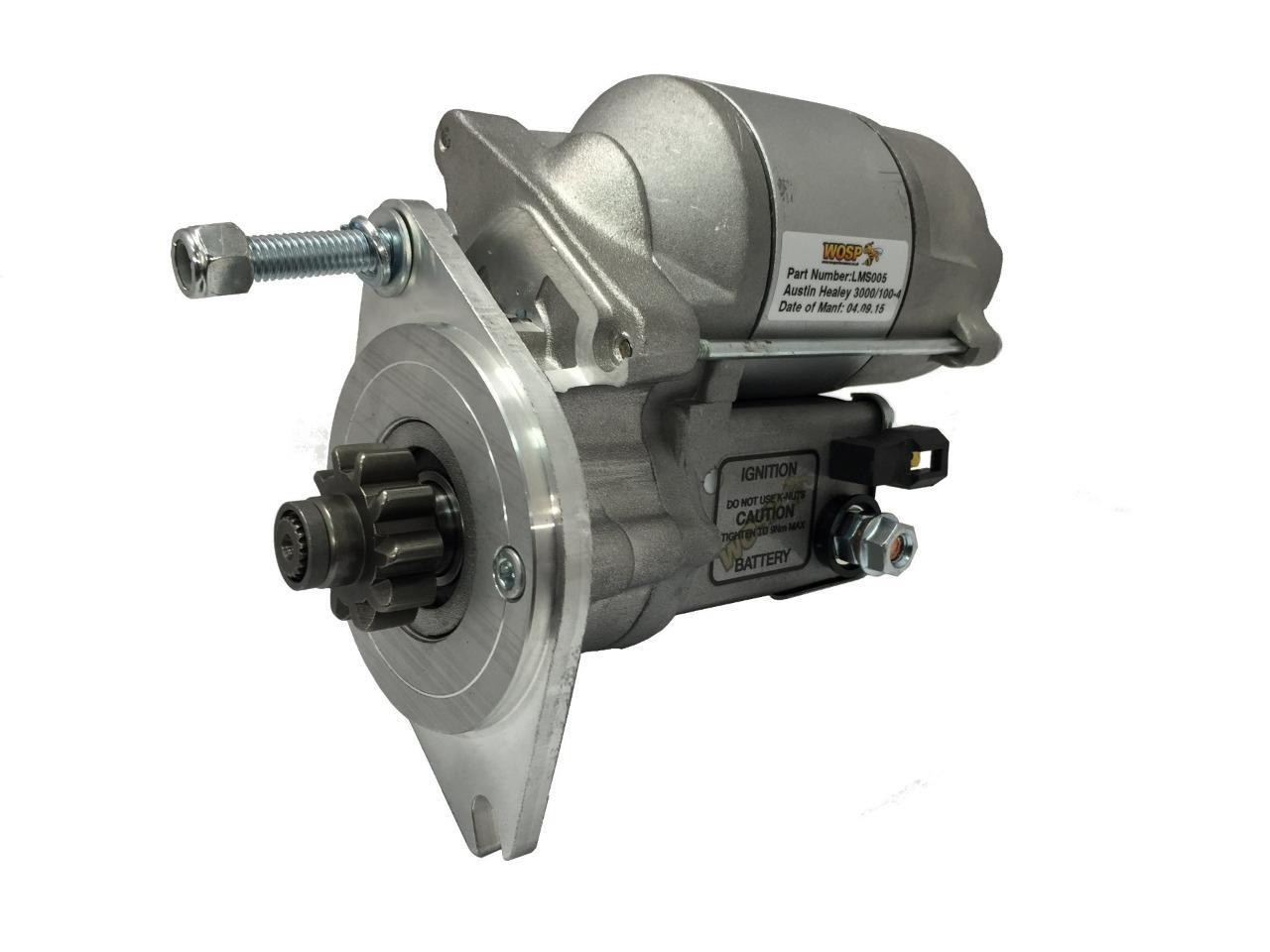 Austin Healey 100 4 3000 High Performance Starter Motor 14 Bj8 Wiring Diagram Motorsport Lms005