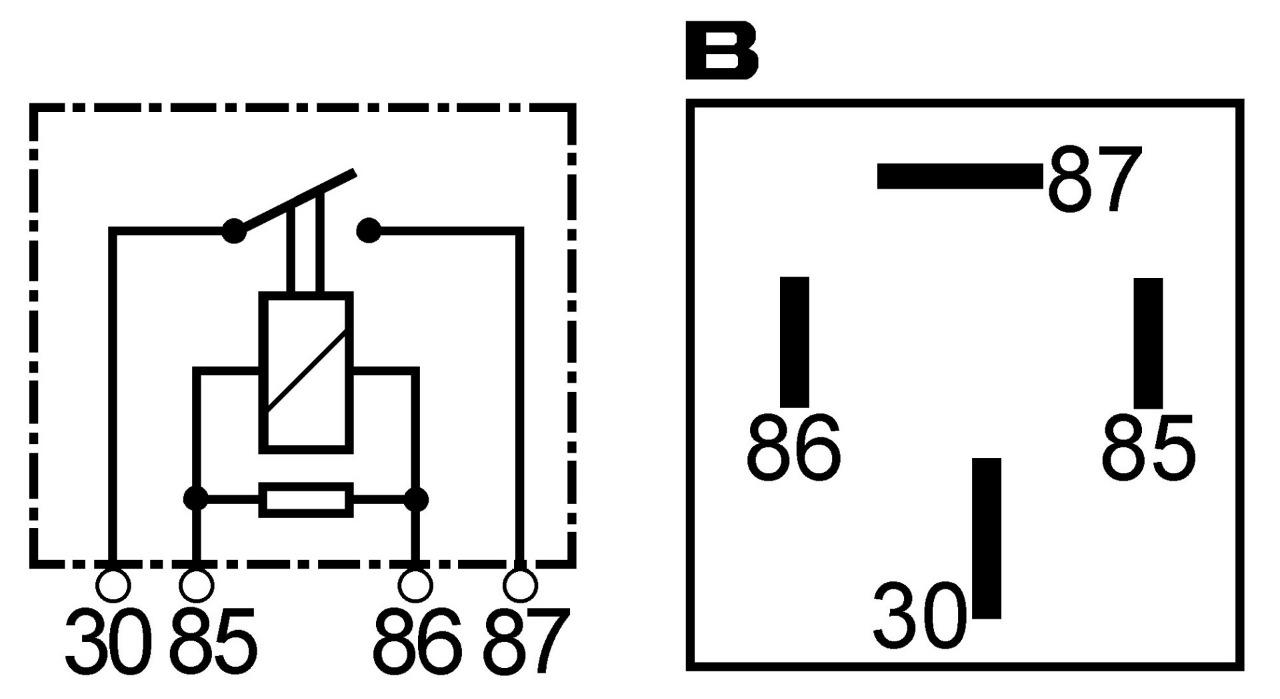 Replacement 24 Volt 50 Amp High Performance Heavy Duty Mini Relay 4 12 Wiring Diagram Pole 50amp Terms 160977