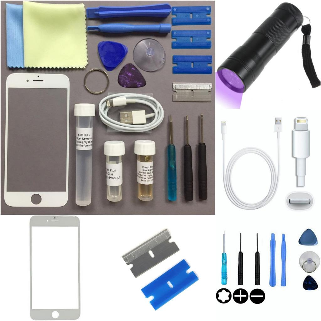 iphone screen repair kit apple iphone 6 s 6 s plus front glass screen outer lens 15440