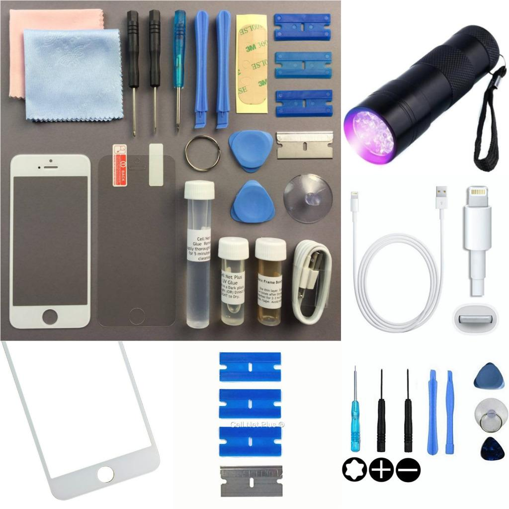 iphone 5 repair kit iphone 5s 5c 5 front outer glass screen replacement repair 8450