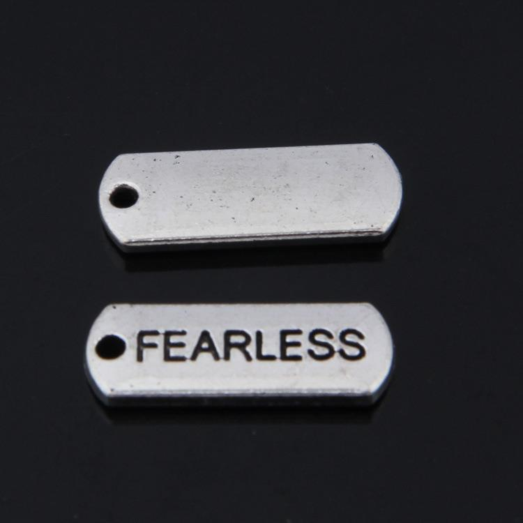 20pcs Infinity Hope Inspiration Connector Charm Antique Silver Tone 39x13 0368