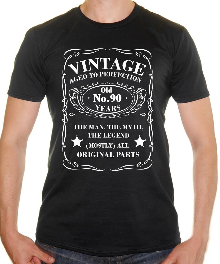 Vintage 90 Years Old T Shirt 90th Birthday