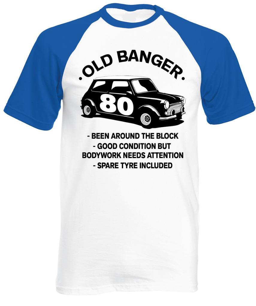 80 Year Old Banger T Shirt Classic Mini