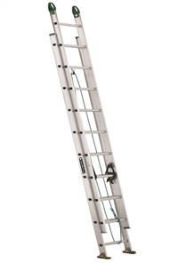 Louisville Ladder 20 Foot Aluminum Industrial Extension Ladder AE4220PG