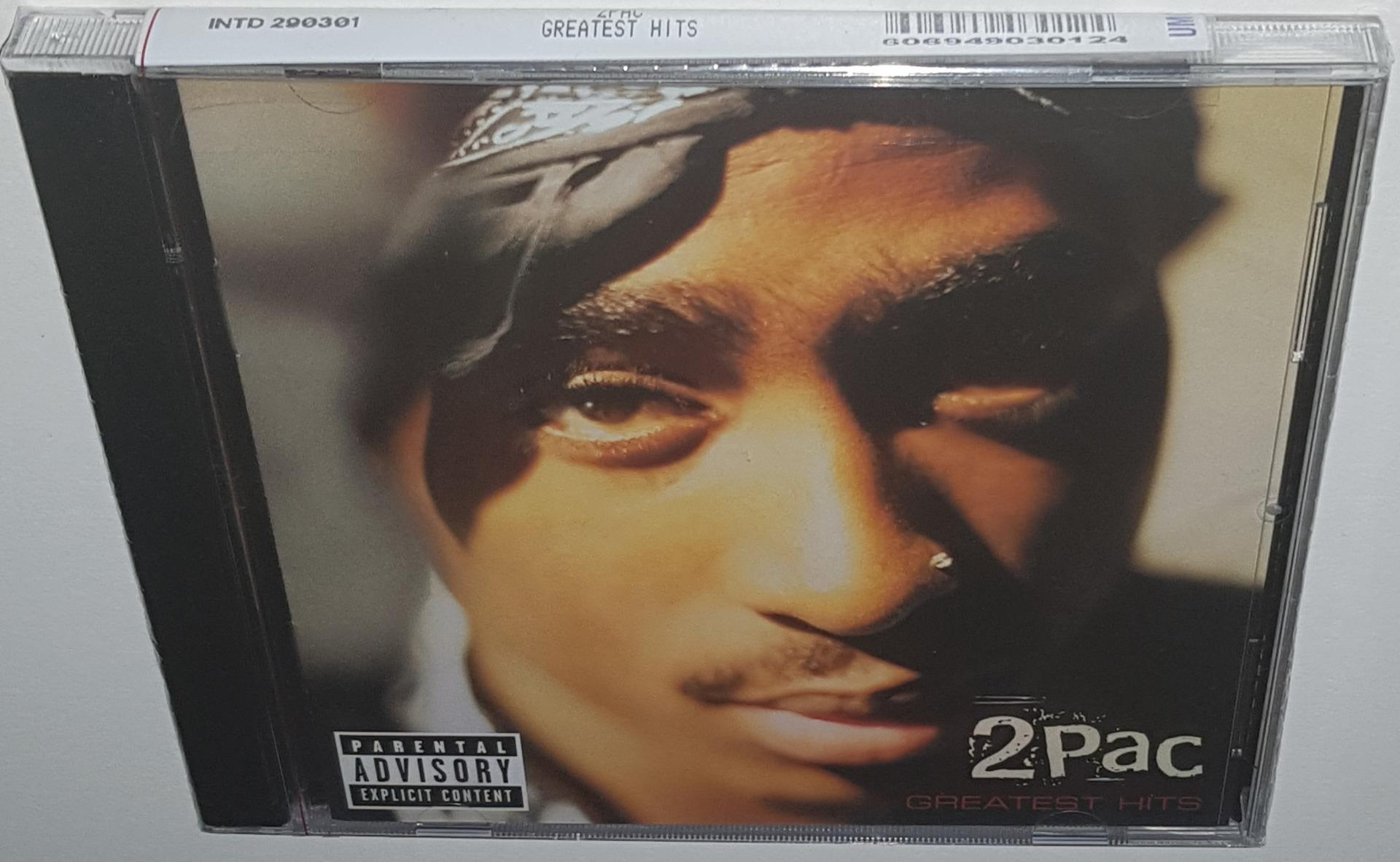 Details about 2PAC GREATEST HITS (1998 EXPLICIT) BRAND NEW SEALED 2CD SET  HIT EM UP TOSS IT UP