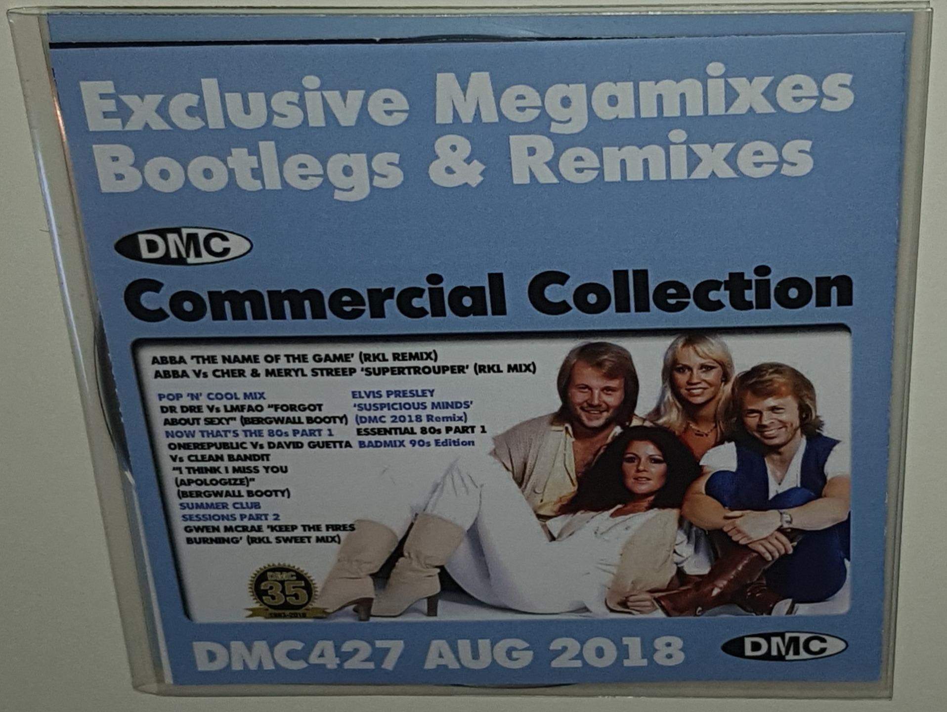 Details about DMC COMMERCIAL COLLECTION ISSUE 427 AUGUST 2018 DJ REMIX  SERVICE 2CD SET