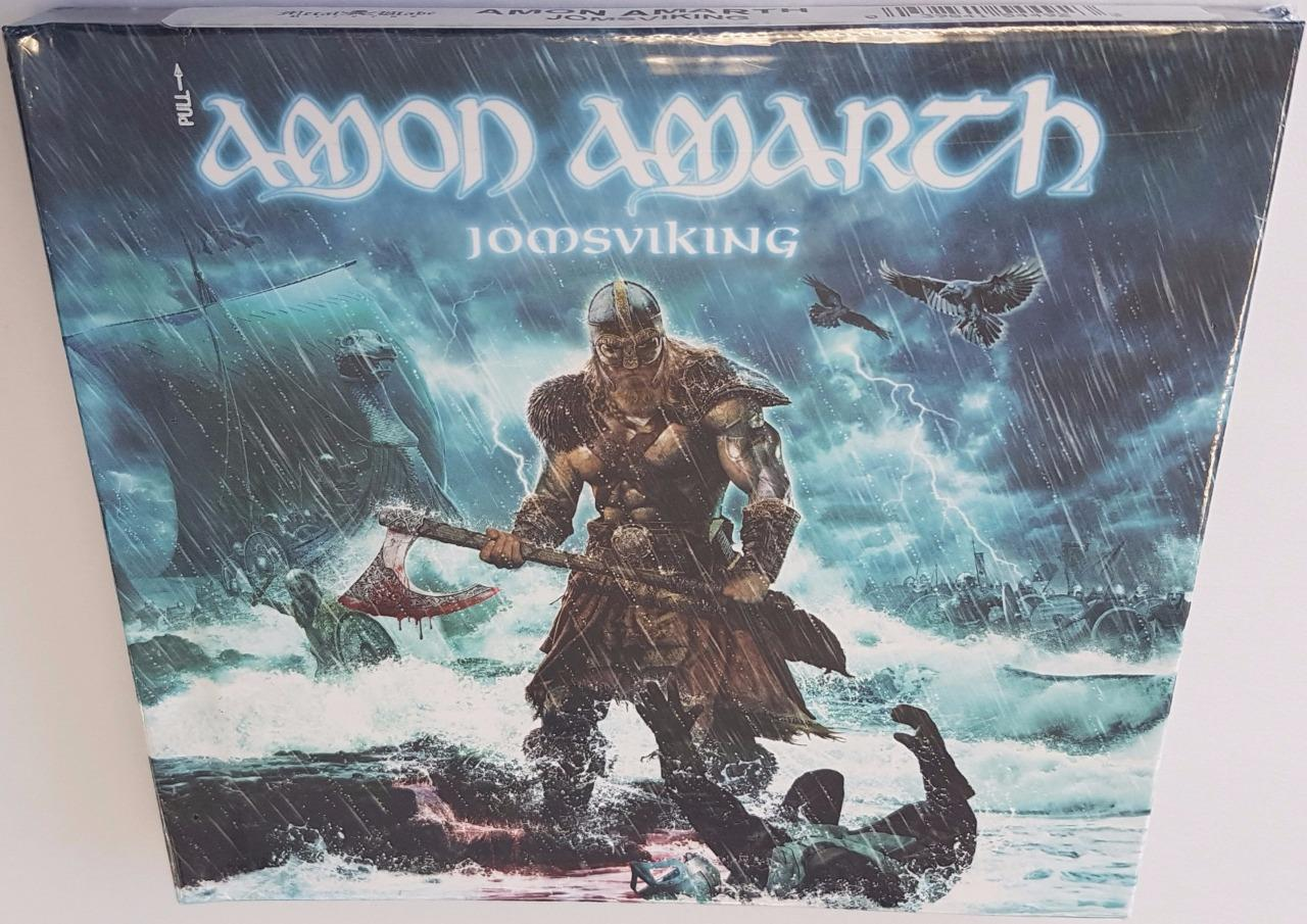 amon amarth jomsviking deluxe edition 2016 brand new sealed ltd digibook cd 39841544923 ebay. Black Bedroom Furniture Sets. Home Design Ideas