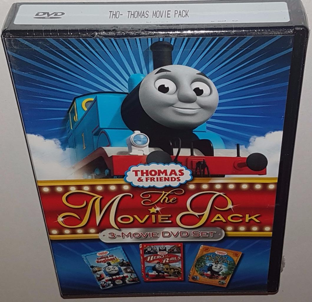THOMAS THE TANK ENGINE & FRIENDS 3 MOVIE PACK NEW SEALED