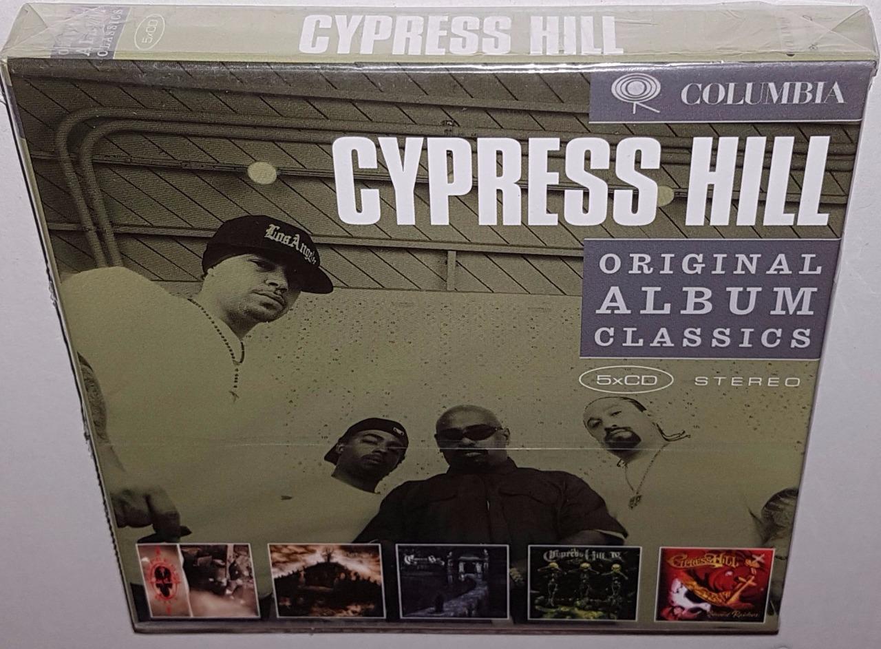 Cypress Hill Original Album Classics Brand New Sealed 5cd