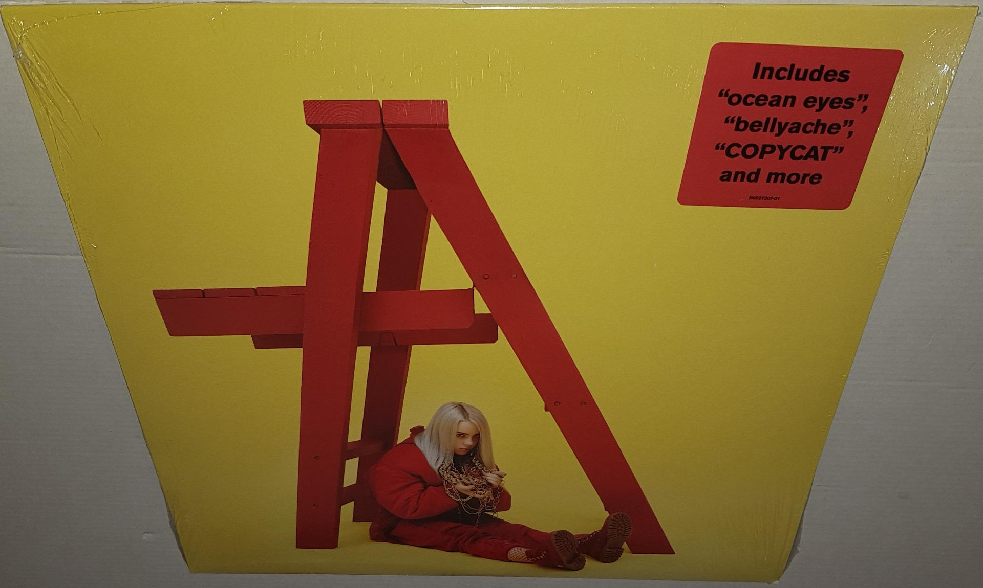 479d58bb BILLIE EILISH DON'T SMILE AT ME (2017) BRAND NEW SEALED LIMITED RED VINYL LP