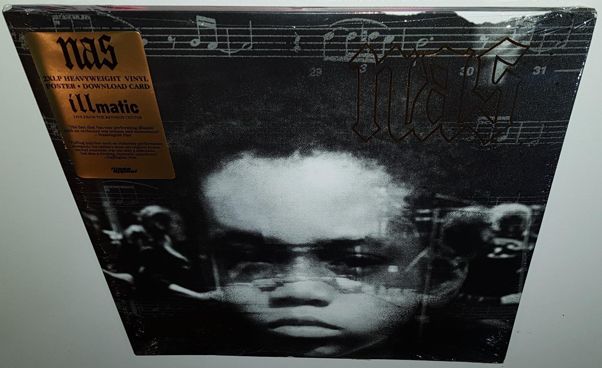 Nas Illmatic Live Vinyl